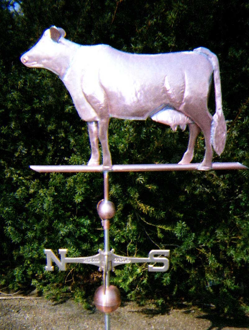 Animal Weathervane, Cow, Dairy Cow  #87-ML