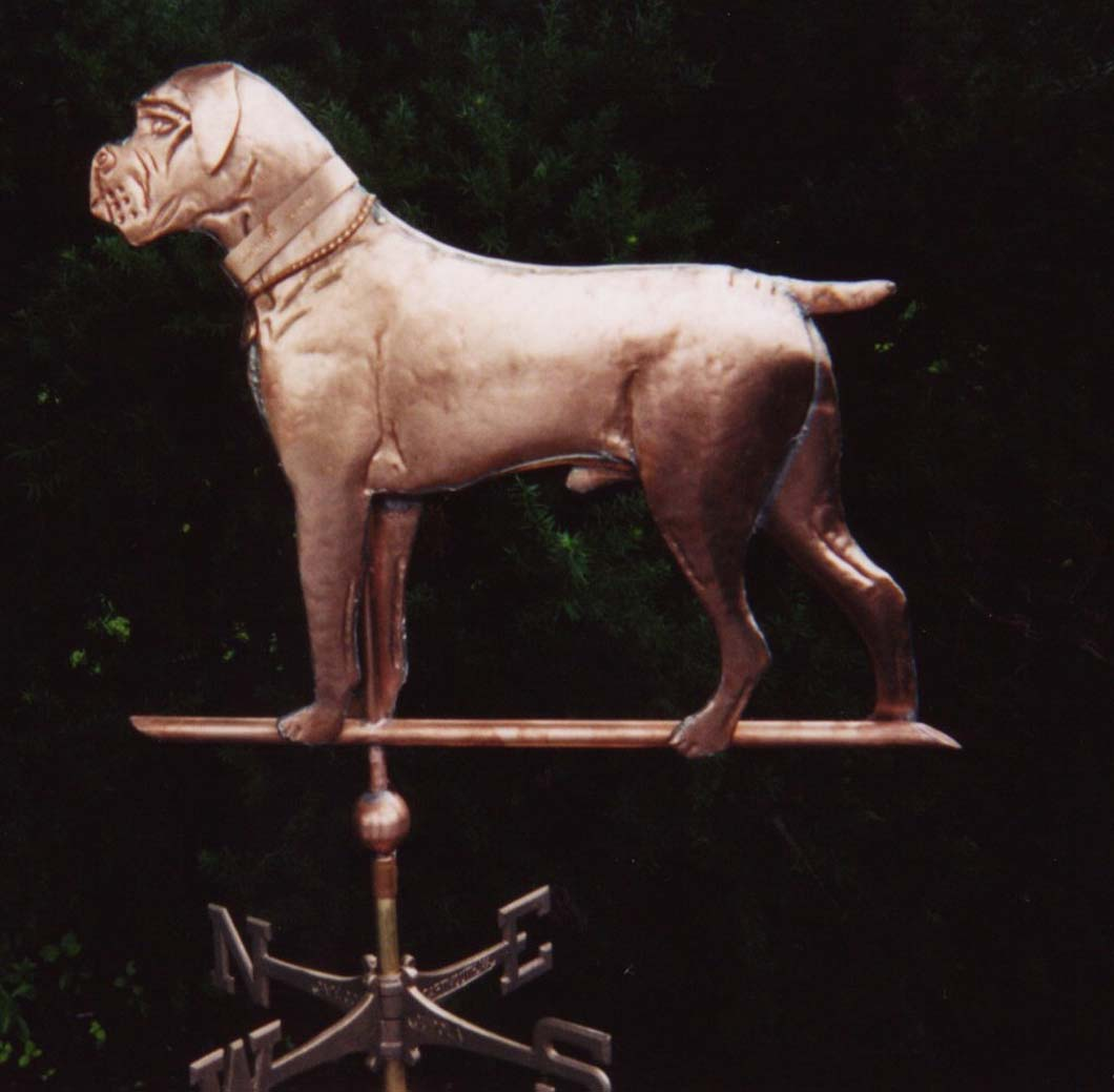 Animal Weathervane, Dog, Boxer  #291-M