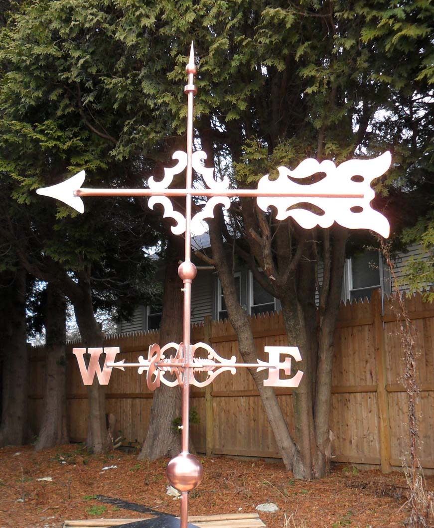 Arrow Weathervane, Evergreen Cemetery, Brooklyn, NY
