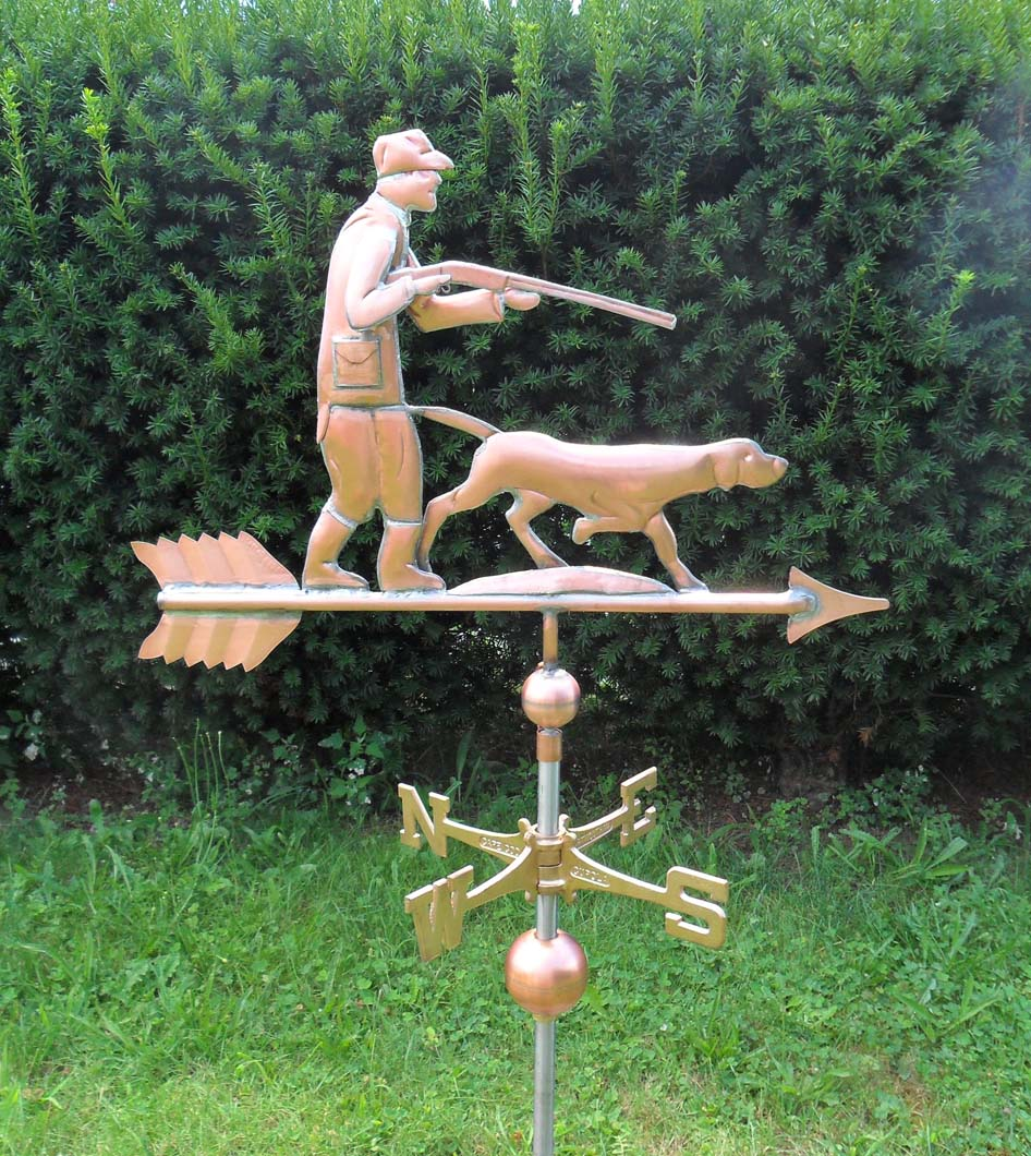 Recreational Weathervane, Hunter #472