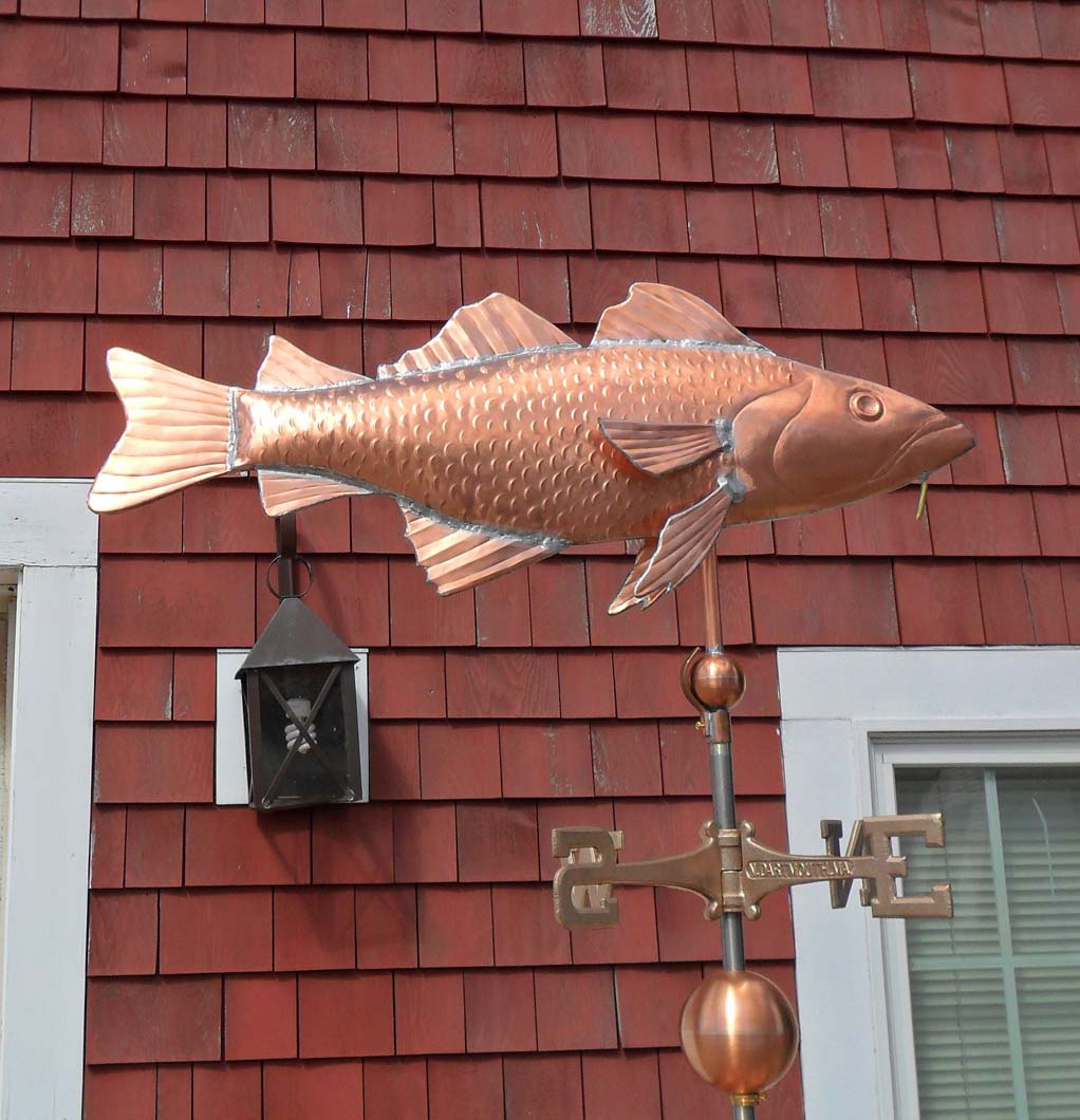 Sea Life Weathervane, Fish, Classic Cod #394-M,