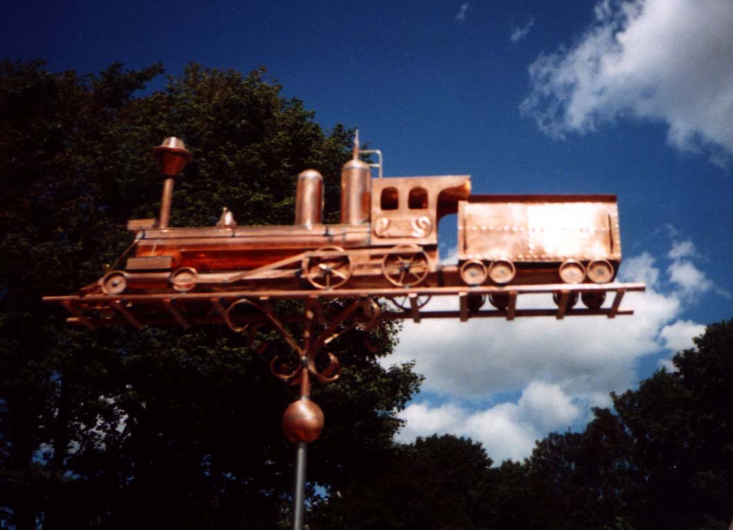 Train Weathervane, Locomotive #126